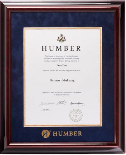 Humber - Executive Diploma